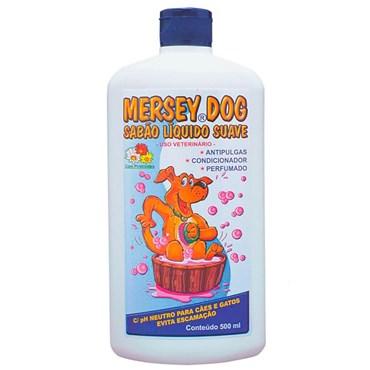 Shampoo AntiPulgas para Cães e Gatos Mersey Dog 500ml