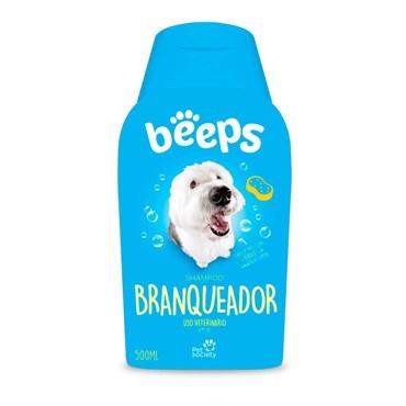 Shampoo Beeps Branqueador Pet Society 500ml