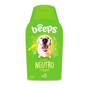 Shampoo Beeps Neutro Pet Society 500ml