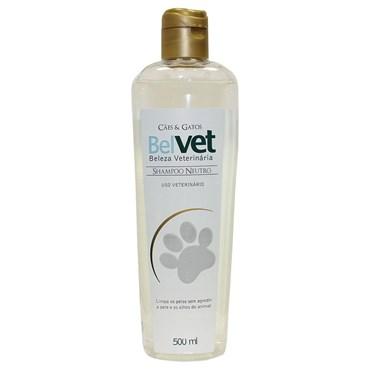 Shampoo Belvet Para Cães e Gatos Neutro 500ml