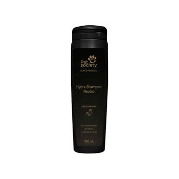 Shampoo Hydra Neutro Super Premium para Cães e Gatos 300ml - Pet Society