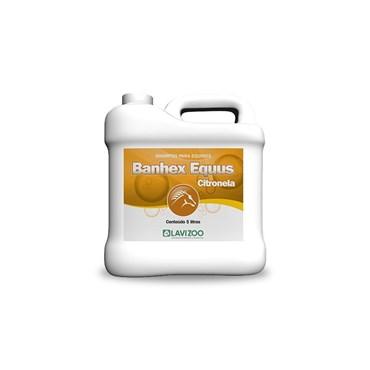 Shampoo Para Cavalo Banhex Equus Citrolena - Lavizoo
