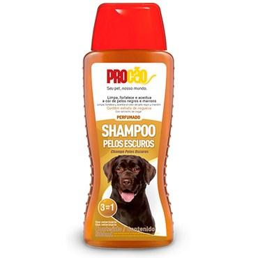 Shampoo Procão Para Cães e Gatos Pelos Escuros 500ml