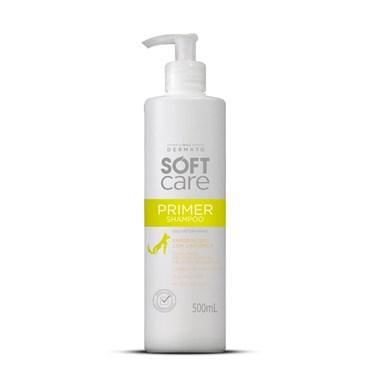 Shampoo Soft Care Primer Peles Delicadas e Pelagem Ressecada para Cães e Gatos 500 ml