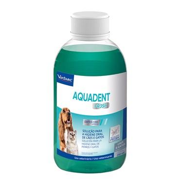 Solução para Higiene Oral Cães e Gatos Aquadent FR3SH 250 ml - Virbac