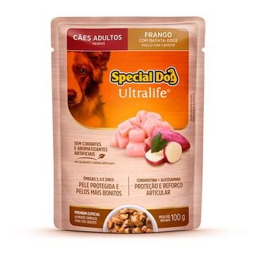 Special Dog Sachê Cães Adultos Frango ao Molho 100 g