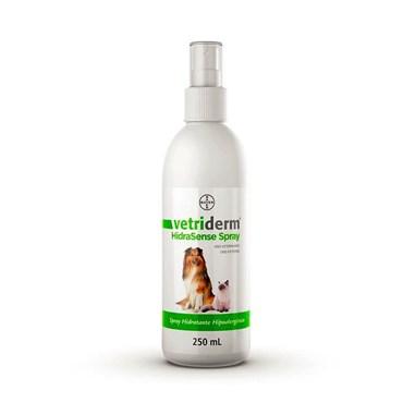 Spray VetriDerm Hidra Sense Bayer para Cães e Gatos 250 ml