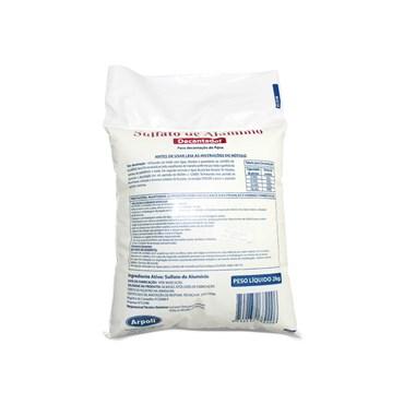 Sulfato de Alumínio Decantador 2kg - Arpoli