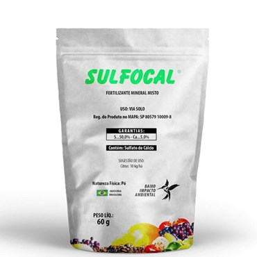 Sulfocal Fertilizante Mineral Misto Sulfato de Cálcio