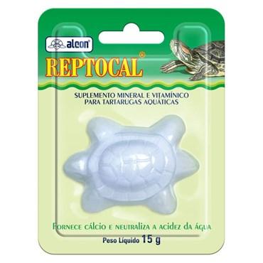 Suplemento Alcon Reptocal Suplemento Mineral Para Tartarugas 15g