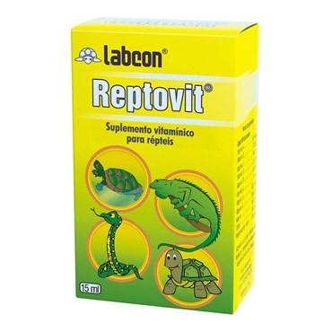 Suplemento Alcon Reptovit Para Répteis 15ml