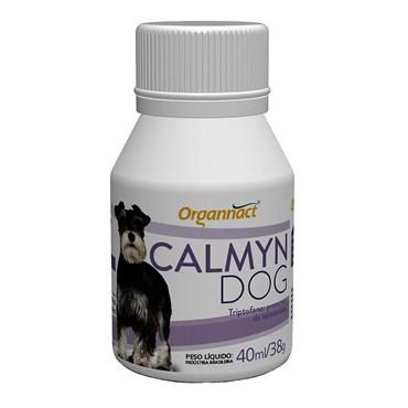 Suplemento Alimentar Calmyn Dog Organnact para Cães 40ml