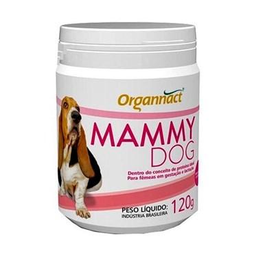 Suplemento Alimentar Organnact Mammy Dog para Cães Fêmeas em Gestação ou Lactação 120g