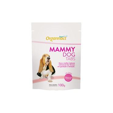 Suplemento Alimentar Organnact Mammy Dog para Cães Fêmeas em Gestação ou Lactação Tabs 100g