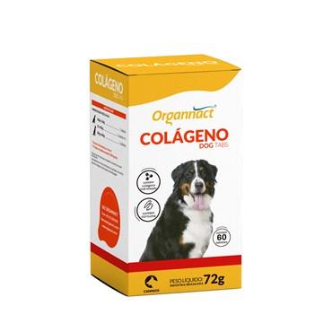 Suplemento Mineral Organnact Colágeno Dog Tabs para Cães 72g