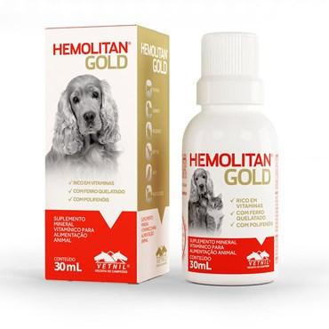 Suplemento Mineral Vitamínico para Alimentação Animal Hemolitan Gold