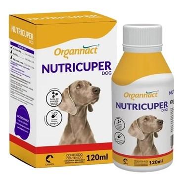 Suplemento Organnact Nutricuper para Cães 120 ml