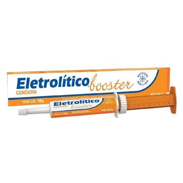 Suplemento Repositor Eletrolítico Booster Cenoura Uso Veterinário 50 g - Vetnil