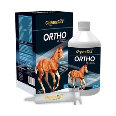 Suplemento Vitamínico Mineral para Equinos Ortho Potros Organnact 500 ml