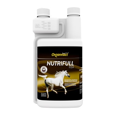Suplemento Vitamínico Nutrifull para Equinos Organnact 500 Ml