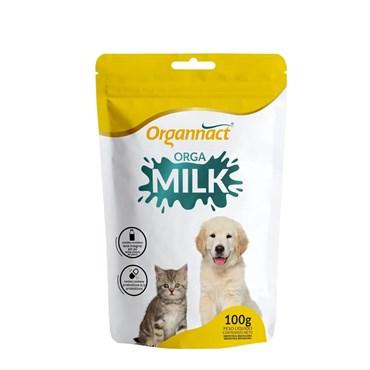 Suplemento Vitamínico Orga Milk Organnact para Cães e Gatos Filhotes 100g