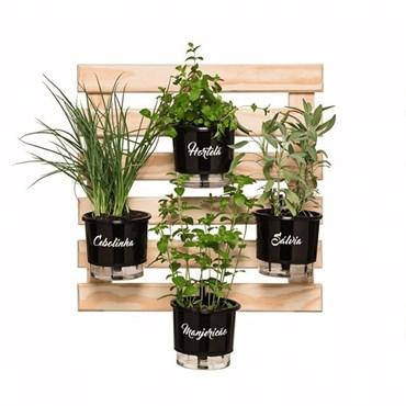 Suporte de Treliça Anel Para Vasos Jardins Verticais - Raiz