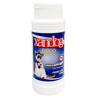 Talco antipulgas e antiosséptico para cães e gatos Xandog