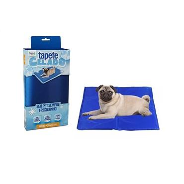 Tapete Gelado The Ice Pad Azul 50x65cm - The Pet's Brasil