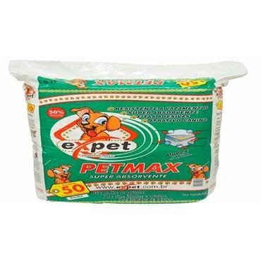 Tapete Higiênico Pet Max 65X60cm Com 50 Unidades