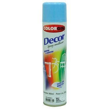 Tinta Spray Decor cor Azul Céu 360ml