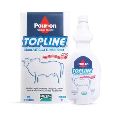 Topline Ectoparasiticida Pour-on à Base de Fipronil a 1% - Mertial
