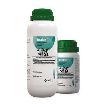 Triatox Carrapaticida/Sarnicida para Bovinos, Suínos e Ovinos - MSD