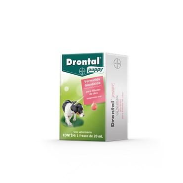 Vermífugo Drontal Puppy 20 ml