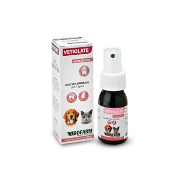 Vetiolate Antisséptico Spray para Cães e Gatos 30ml