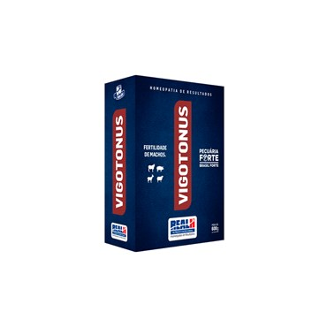 Vigotonus para Fertilidade de Machos Reprodutores 600g - Real H