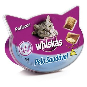 Whiskas Petisco Temptations Pelo Saudável 40g