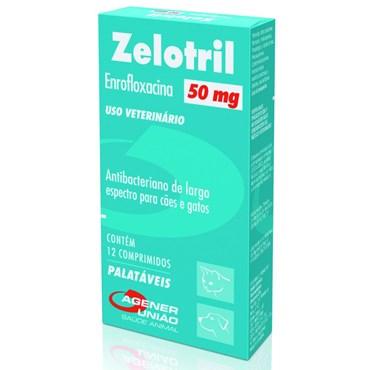 Zelotril 50 mg - 12 Comprimidos
